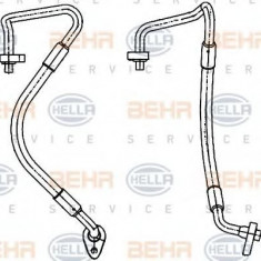 Conducta inalta presiune, aer conditionat FORD FOCUS C-MAX 1.6 - HELLA 9GS 351 338-571 - Furtunuri aer conditionat auto