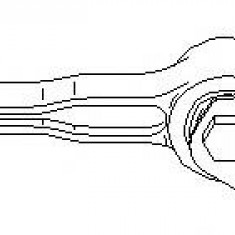 Suport, transmisie manuala SKODA FABIA 1.9 SDI - TOPRAN 110 445 - Tampon cutie viteze
