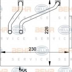 Evaporator, aer conditionat FORD IKON V 1.4 16V - HELLA 8FV 351 211-141