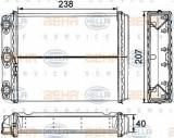 Schimbator caldura, incalzire habitaclu MERCEDES-BENZ limuzina 200 - HELLA 8FH 351 311-611