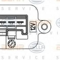 Rezistor, ventilator habitaclu OPEL MERIVA 1.8 - HELLA 9ML 351 332-221 - Motor Ventilator Incalzire