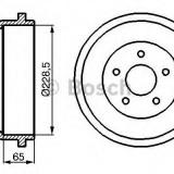 Tambur frana FORD CAPRI Mk II 1.6 - BOSCH 0 986 477 129