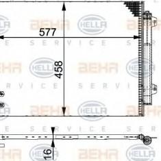 Condensator, climatizare VW PASSAT limuzina 2.0 FSI - HELLA 8FC 351 317-551 - Radiator aer conditionat