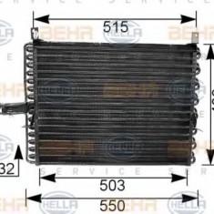 Condensator, climatizare MERCEDES-BENZ limuzina 200 - HELLA 8FC 351 035-751 - Radiator aer conditionat