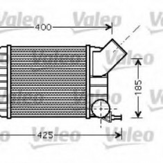 Intercooler, compresor FIAT PUNTO 1.9 JTD 80 - VALEO 818725 - Intercooler turbo
