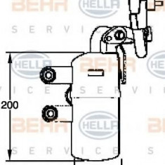 Uscator, aer conditionat VOLVO C30 1.6 D2 - HELLA 8FT 351 335-111