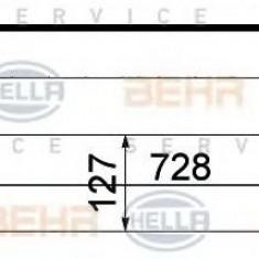 Intercooler, compresor NISSAN MURANO 2.5 4x4 - HELLA 8ML 376 762-171 - Intercooler turbo