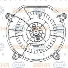 Ventilator, habitaclu MERCEDES-BENZ E-CLASS limuzina E 320 - HELLA 8EW 009 159-601 - Motor Ventilator Incalzire
