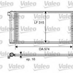 Condensator, climatizare FIAT PANDA Van 1.2 - VALEO 818005 - Radiator aer conditionat