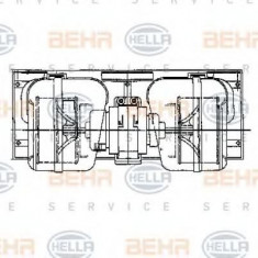 Ventilator, habitaclu DAF 95 XF FA 95 XF 380 - HELLA 8EW 009 157-661 - Motor Ventilator Incalzire