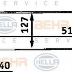 Intercooler, compresor BMW 3 limuzina 325 tds - HELLA 8ML 376 723-091 - Intercooler turbo