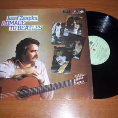 JOSEF ZSAPKA-HOMAGE TO BEATLES disc vinil vinyl pick-up pickup