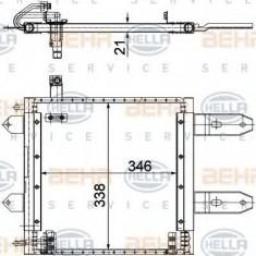 Condensator, climatizare VW LUPO 1.2 TDI 3L - HELLA 8FC 351 300-171 - Radiator aer conditionat