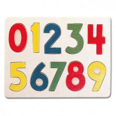 Puzzle din lemn - Cifre - Bino