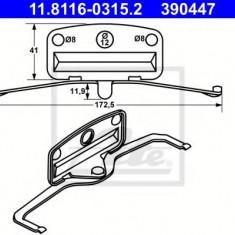 Arc, etrier frana BMW 5 limuzina M 3.8 - ATE 11.8116-0315.2 - Arc - Piston - Garnitura Etrier