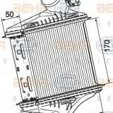 Intercooler, compresor SMART FORTWO cupe 0.8 CDi - HELLA 8ML 376 746-241