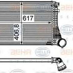 Intercooler, compresor VW (FAW) CC 1.8 - HELLA 8ML 376 746-061 - Intercooler turbo