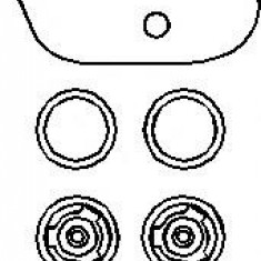 Membrana, pompa vacuum VW CARIBE I 1.5 D - TOPRAN 101 493 - Pompa vacuum auto