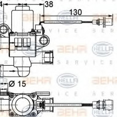 Supapa control, agent frigorific RENAULT TRUCKS Magnum AE 385ti.18 - HELLA 9XL 351 328-381 - Supapa Control Incalzire