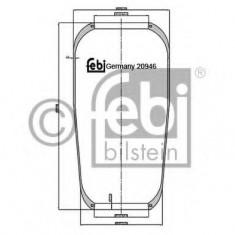 Burduf, suspensie pneumatica - FEBI BILSTEIN 20946