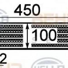 Intercooler, compresor OPEL CORSA D Van 1.3 CDTI - HELLA 8ML 376 755-731 - Intercooler turbo