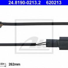 Senzor de avertizare, uzura placute de frana BMW 3 limuzina 316 - ATE 24.8190-0213.2 - Senzor placute