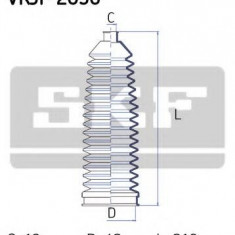 Ansamblu burduf, directie FORD SIERRA hatchback 1.6 - SKF VKJP 2056