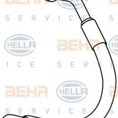 Conducta inalta presiune, aer conditionat PEUGEOT 407 limuzina 2.0 - HELLA 9GS 351 337-781 - Furtunuri aer conditionat auto
