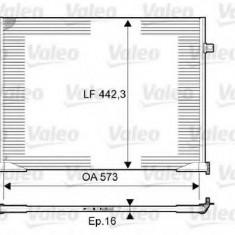 Condensator, climatizare RENAULT TRAFIC II platou / sasiu 2.0 - VALEO 814172 - Radiator aer conditionat