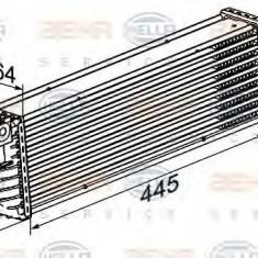 Intercooler, compresor NISSAN SENTRA II hatchback 2.2 Di - HELLA 8ML 376 777-081 - Intercooler turbo