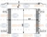 Condensator, climatizare SCANIA 3 - series 93 M/250 - HELLA 8FC 351 302-031