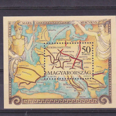 Harta Europa veche  si Dacia  ,Ungaria.