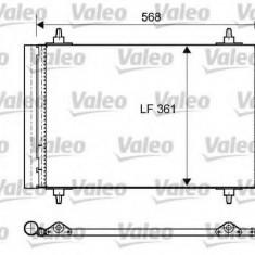Condensator, climatizare PEUGEOT 307 1.6 16V - VALEO 818170 - Radiator aer conditionat