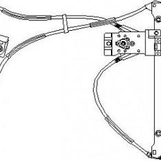 Mecanism actionare geam VW POLO 55 1.3 - TOPRAN 107 836 - Macara geam
