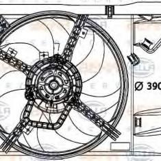 Ventilator, aer conditionat FIAT PUNTO 1.2 - HELLA 8EW 376 729-651 - Radiator aer conditionat
