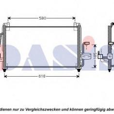Condensator, climatizare DAEWOO TACUMA 1.8 - AKS DASIS 512015N - Aripa auto KLOKKERHOLM
