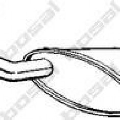 Toba esapamet intermediara OPEL CALIBRA A 2.0 i 16V - BOSAL 283-203 - Toba finala auto