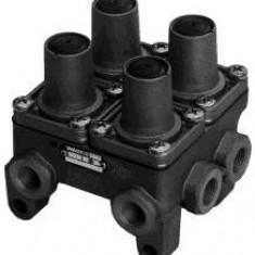 Supapa protectie multicircuit - WABCO 934 702 221 7 - Placute frana Bosch