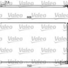 Condensator, climatizare FORD MONDEO Mk III limuzina 1.8 16V - VALEO 817657 - Radiator aer conditionat