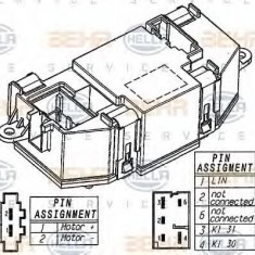 Reglaj, suflanta de interior AUDI A5 1.8 TFSI - HELLA 5HL 351 321-521 - Motor Ventilator Incalzire
