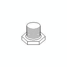 Surub de golire, baia de ulei CITROËN XSARA 2.0 HDi 109 - TOPRAN 720 302 - Surub Golire Ulei Motor