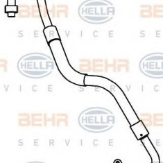 Conducta presiune variabila, aer conditionat FORD FOCUS C-MAX 1.6 - HELLA 9GS 351 337-471 - Furtunuri aer conditionat auto