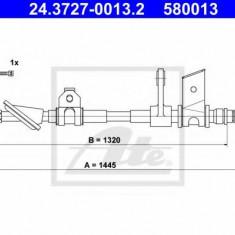 Cablu, frana de parcare ALFA ROMEO 166 limuzina 2.0 T.Spark - ATE 24.3727-0013.2