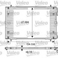 Condensator, climatizare PEUGEOT 206 hatchback 2.0 S16 - VALEO 817283 - Radiator aer conditionat
