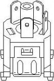 Comutator ventilator,incalzire/ventilatie AUDI 4000 1.3 - TOPRAN 102 691