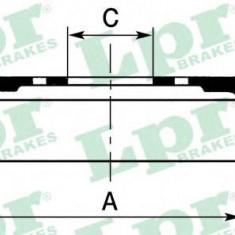 Tambur frana OPEL CORSA D 1.4 - LPR 7D0657 - Saboti frana auto