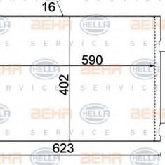 Condensator, climatizare RENAULT CLIO Mk II 1.5 dCi - HELLA 8FC 351 310-791 - Radiator aer conditionat