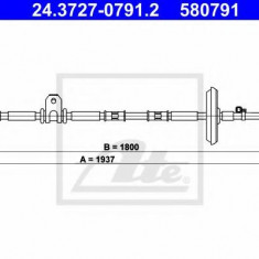 Cablu, frana de parcare OPEL INSIGNIA 2.0 E85 Turbo - ATE 24.3727-0791.2
