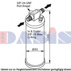 Uscator, aer conditionat DAF 85 FA 85.330 - AKS DASIS 800362N - Armatura bara KLOKKERHOLM