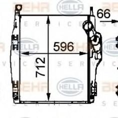 Intercooler, compresor MERCEDES-BENZ ACTROS 2631 B - HELLA 8ML 376 724-091 - Intercooler turbo